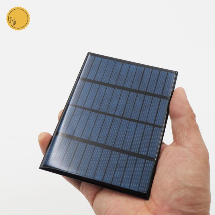 12 V 1,5 W policristalino DIY batería panel Solar estándar epoxi energía carga módulo 115x85mm Mini célula Solar